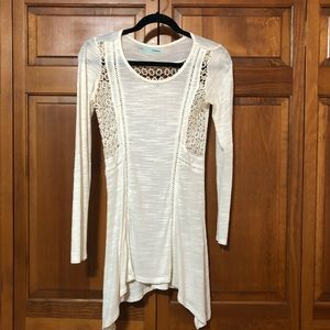 Maurices Tunic w/ Crochet Detail